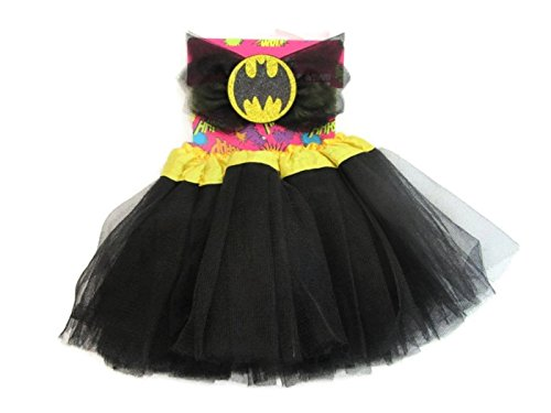 DC Comic Batgirl Dress Up Infant Tutu and Headband Set, 0-12 Months