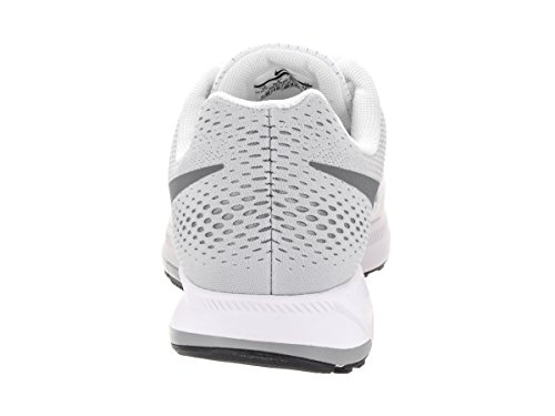 Nike Air Zoom Pegasus 33, Zapatillas de Running Para Hombre Blanco (White / Cool Grey-Pure Platinum-Black)