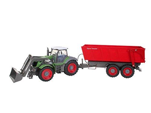 Revell - Tractor agrícola y remolque con radiocontrol (24960): Amazon.es: Juguetes y juegos