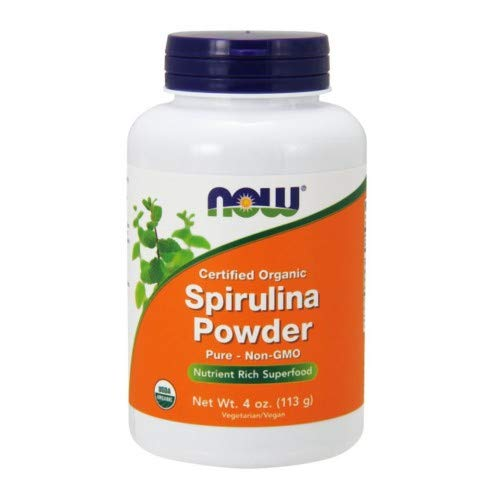 Spirulina Powder, 4 OZ by Now Foods (Pack of 6)
