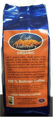 "10 oz. Artisan Roasted (Euro -Dark) Primera Extra Organic Bolivian Coffee - Whole Bean AAA "" Cafe Valverde"""