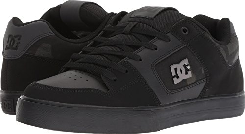 DC Men's Pure SE Skate Shoe, Black Camouflage, 11.5 Medium US by DC