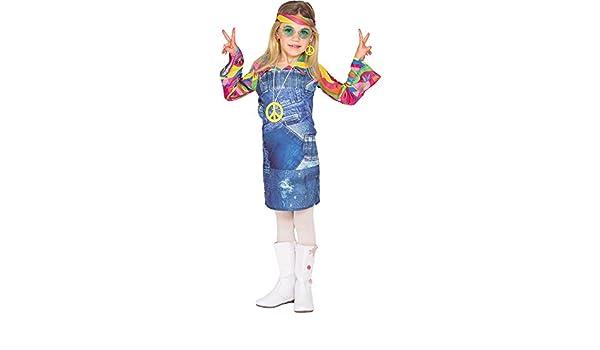 Fyasa 706464-t01 Hippie niño disfraz de vaquera, tamaño mediano ...