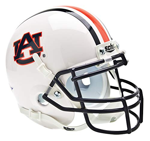 - Schutt NCAA Mini Authentic XP Football Helmet, Auburn Tigers