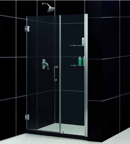 50' Frameless Shower Door (Dreamline Frameless Shower Door, 25