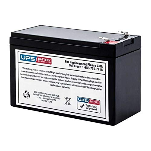APC Back-UPS 900VA, 9 outlets, 120V, Retail BN900M Compatible Replacement Battery by UPSBatteryCenter UPS Battery Center BN900M-091218