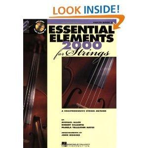 Essential Elements 2000 Violin Book 2 Bk/CD