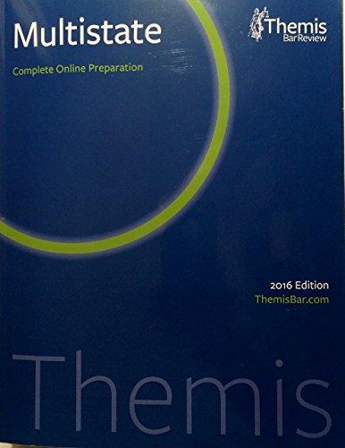 Download Themis Bar Review, Multistate Online Preparation pdf epub