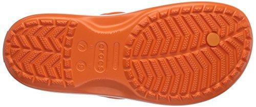 Crocs Unisexe Crocband Flip-flop Orange / Blanc
