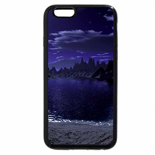 iPhone 6S / iPhone 6 Case (Black) river scenery