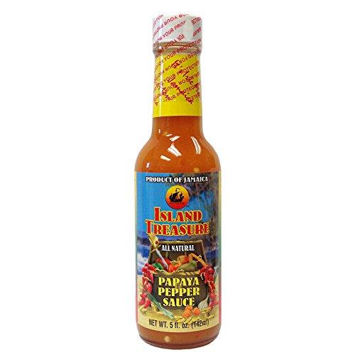 Island Treasure Papaya Pepper Sauce- 5oz.