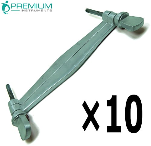 10 Pcs Veterinary Ear Clamps 5.5
