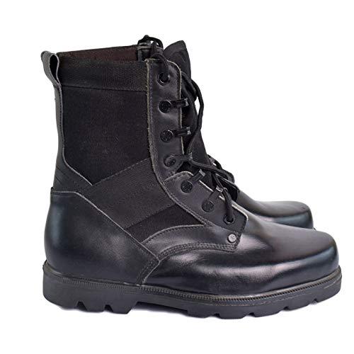 E Leggero Nero DSFGHE Stivali Uomo Stivali Traspirante Speciali Black Deserto Alti Stivali Tattici Stivali Militari da Alti 0qRT70