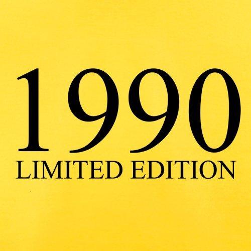 1990 Limierte Auflage / Limited Edition - 27. Geburtstag - Herren T-Shirt - Gelb - XL
