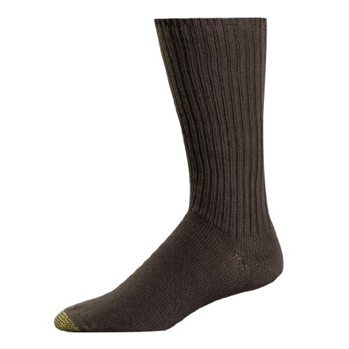 Gold Toe Cotton Fluffies 3-Pair Sock - Extended Sizes (Socks Gold Toe Stretch Toe)