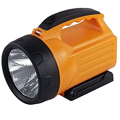 CHAI Outdoor Searchlight Glare LED Rechargeable Spotlight 7W Outdoor Patrol Light with LED Tube