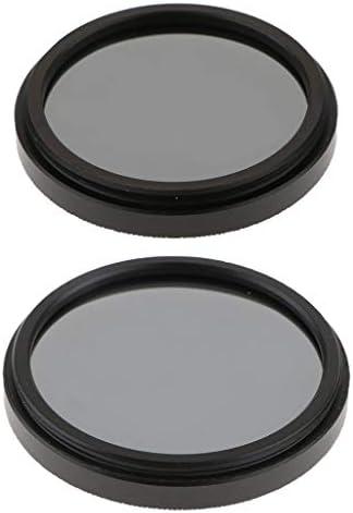 B Baosity Nikon Canon DSLRカメラレンズ用 2 X 37mm + 40.5mm ND ND4フィルター