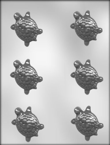 CK Products 2-1/4-Inch Turtle Chocolate Mold -