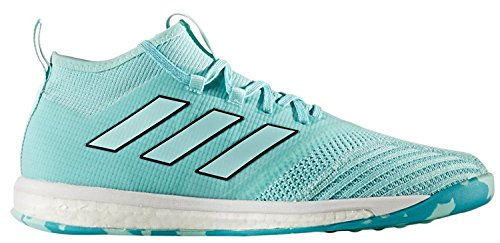 Adidas Men's Ace Tango 17.1 TR IN Soccer Shoes (Aqua) (10)