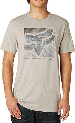 Fox Racing Mens Reliever Premium Short-Sleeve Shirt Large Stone