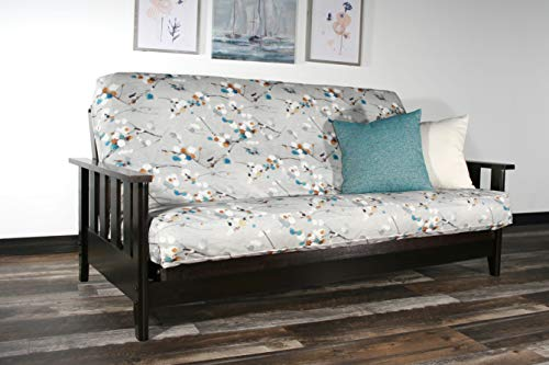 (Strata Furniture Canby Black Walnut Full Wall Hugger Futon Frame (KD))
