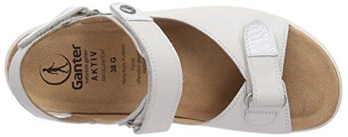 Ganter Witte Sandalen Actieve Genda Breed G Vrouwen (wit 0200)