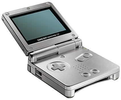 Game Boy Advance SP - Color Plata [Game Boy Advance ...