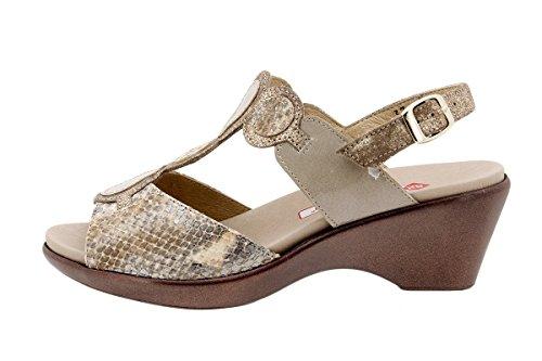 Sandales Femme Amovible Cuir Semelle Cuero Confortables Amples 1857 En Chaussure Piesanto Confort À aqgyA