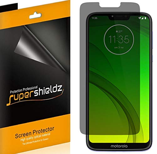 Spy Shield - [2 Pack] Supershieldz (Privacy) Anti-Spy Screen Protector Shield for Motorola (Moto G7 Power) -Lifetime Replacement