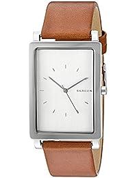 Skagen Men's SKW6289 Hagen Dark Brown Leather Watch