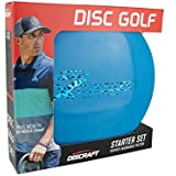 Discraft Starter Pack Beginner Disc Golf Set (3-Pack) 1 Driver, 1 Mid-Range, 1 Putter