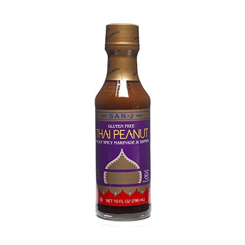 San-J Thai Peanut Mildly Spicy Marninade & Dipping Gluten Free, 10 ozSan-J Thai Peanut Mildly Spicy Marninade & Dipping Gluten Free, 10 oz