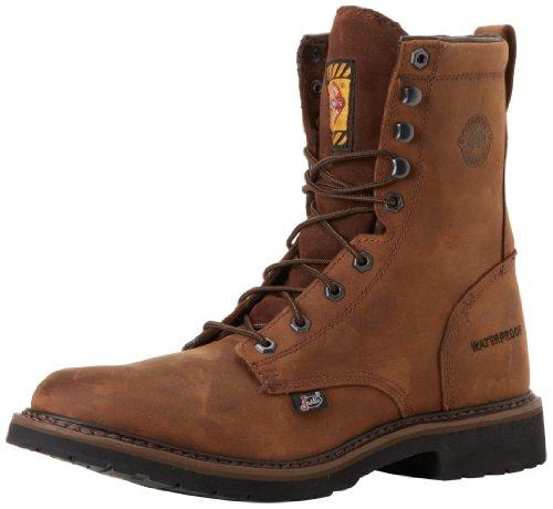 Justin Waterproof Shoes (Justin Original Work Boots Men's Worker II WaterProof Work Boot,Wyoming,6 EE US)