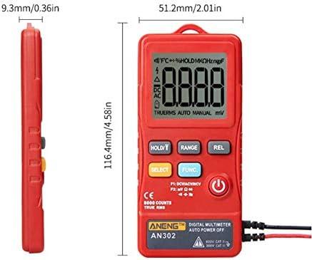 LHQ-HQ Automatic Digital multimeter Pocket Universal Meter high Precision Automatic Electric Mini Ammeter