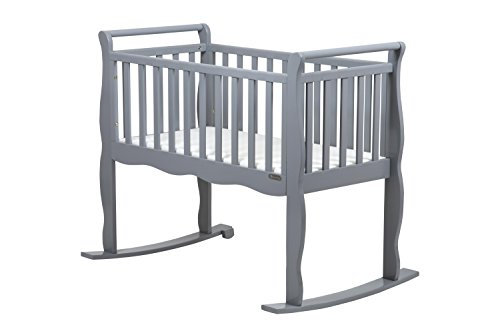 Now and Forever Baby Cradle (Grey)