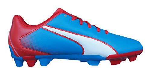 Puma Adreno FG Niños botas de fútbol Blue