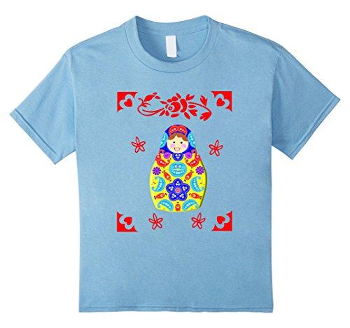 Kids Cutesy Fun Matryoshka Russian Doll Graphic T-Shirts ...