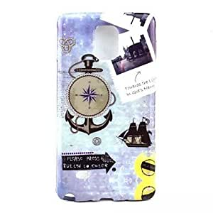 JOE Anchor Pattern TPU Soft Case Cover for Samsung Galaxy NOTE4