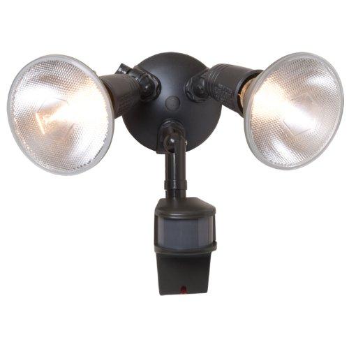 Halogen Par Floodlight (All Pro Outdoor Security MS185D 180-Degree Motion-Activated Security Floodlight 200-Watt Par Halogen with PrecisionPlus Doppler, Bronze)