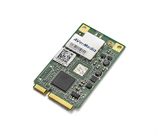 Aquamoon Trading AverMedia A336A A336A R683F Wireless TV Tuner Card Mini PCI-E for Dell HP IBM ASUS Alienware MSI Lenovo Acer Laptop AIO Inspiron One 2205 2305 2310 G7MMX