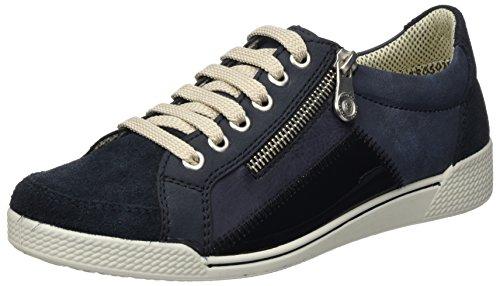 Rieker Damen 46500 Sneaker Blau (Pazifik/Ozean/Marine/Atlantis)