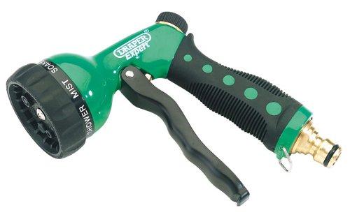 Draper Expert 68464 7-Pattern Spray Gun with Brass Connector Draper Tools Garden Tools Spray Guns Power Tools