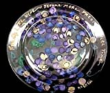 Friends like Wine... Design - Hand Painted - Platter/Serving Plate - 13 inch diameter