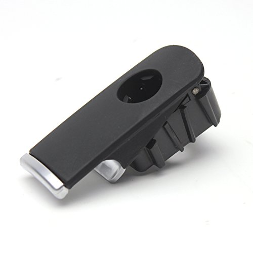 Chrome Plastic Box (LOOYUAN Black Glove Box Lock Lid Handle Plastic Chrome For Audi A4 8E B6 B7)