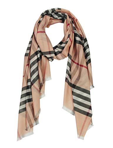 Plaid Scarf - Long Check/Plaid Scarf Lightweight 74.8