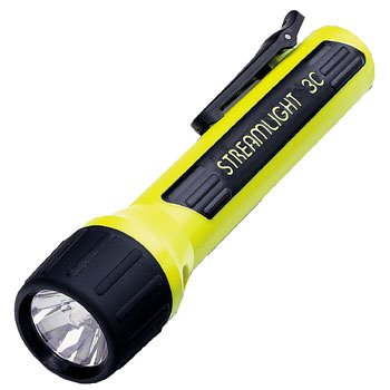 Streamlight 33244 3C ProPolymer Luxeon Flashlight with LED Bulb, Yellow