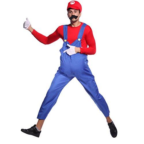 80s-Mens-Adult-Super-Mario-Luigi-Plumber-Bros-Workmen-Game-Fancy-Dress-Costume