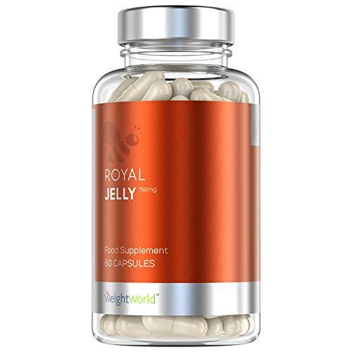 Gelee Royale Kapseln - Bienen-Propolis Gel Tabletten, Mit Vitamin A, Vitamin E, Eisen & Zink, Pure Vitamine für Gesundheit, Immunsystem & Vitalität, Jelly Honig - 60 Stk. Gelee Royal Hochdosiert