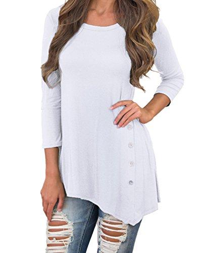 one sleeve white dresses for juniors - 9