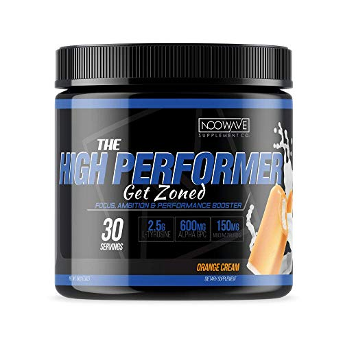 Focus Supplement by NooWave Supplement Co. | The High Performer nootropic is formulated to Provide Extreme Tunnel Vision, Helps to Boost Brain Energy, Motivation and Overall Cerebral Success